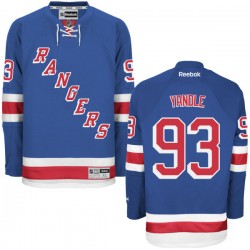 Keith Yandle New York Rangers Reebok Authentic Home Jersey (Royal Blue)