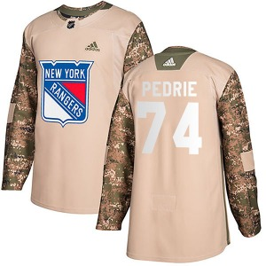 Vince Pedrie New York Rangers Adidas Authentic Veterans Day Practice Jersey (Camo)