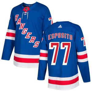 Phil Esposito New York Rangers Adidas Youth Authentic Home Jersey (Royal Blue)
