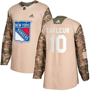 Guy Lafleur New York Rangers Adidas Youth Authentic Veterans Day Practice Jersey (Camo)